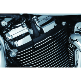 Kuryakyn Finned Spark Plug Covers 2017-2018 Touring, 2018 Softail Milwaukee-Eight