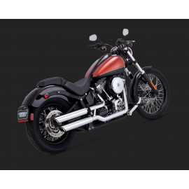 "Vance & Hines Twin Slash 3"" Slip-ons 2007-2017 Softail"