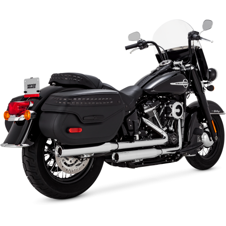 Vance & Hines Eliminator 300 Slip-ons 2018 Softail Milwaukee-Eight