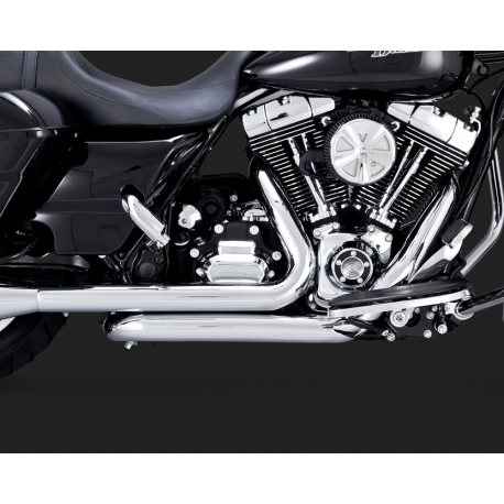 Vance & Hines Dresser Duals Head Pipes 2009-2016 Touring