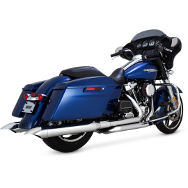 Vance & Hines Turndown Slip-ons 2017-up Touring Milwaukee-Eight