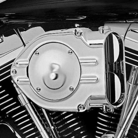 Kuryakyn Chrome Hypercharger Kit 1991-2006 XL Sportster Stock Carb