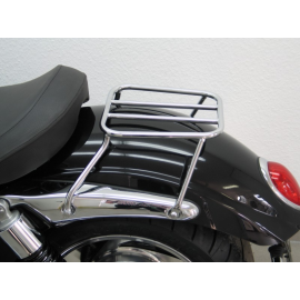 Triumph Rocket 3 III Roadster Solo Luggage Rack Tubular Steel Chromium Plated Magnum