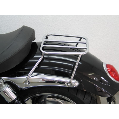 Fehling Triumph Rocket 3 III Roadster Solo Luggage Rack Tubular Steel Chromium Plated Magnum