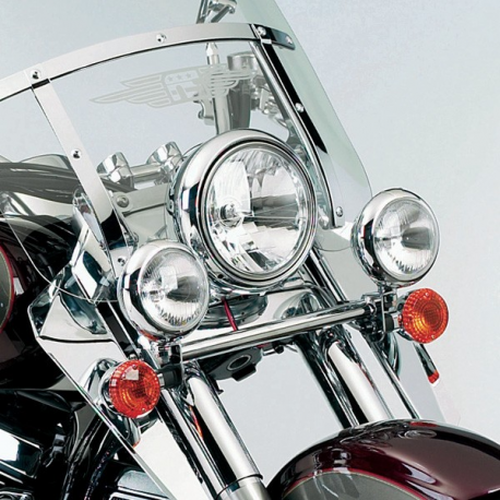 National Cycle Chrome Light Bar for Kawasaki 1999-2008 VN1500FI, Drifter 800 150