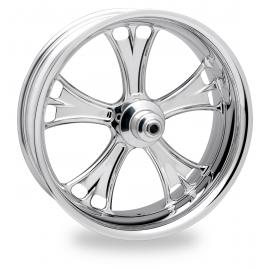 Harley Davidson Custom wheel Softail Rear Billet wheel PM Chrome 18x8.5 New