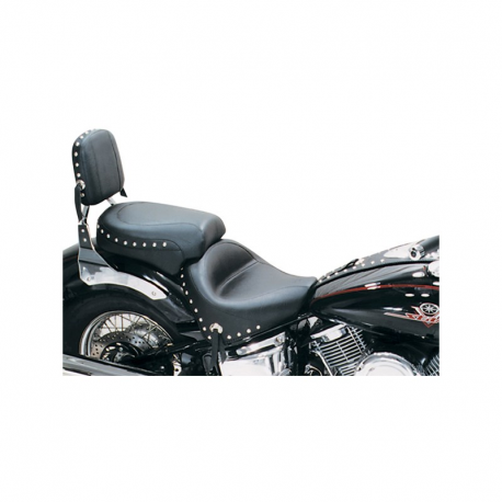 Yamaha XVS1100 Mustang Seat Saddle Touring 2-piece Wide Studded 75277