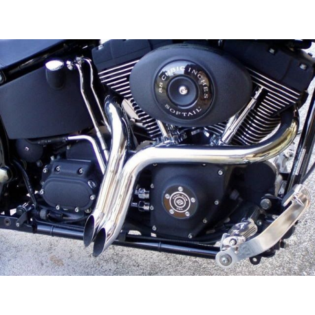 Harley Davidson XL1200 Y Pipes  LAF exhausts 48 72 Chopper exhaust Drag Pipes