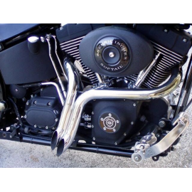 Harley Davidson Y Pipes  LAF exhausts Chopper exhaust Drag Pipes