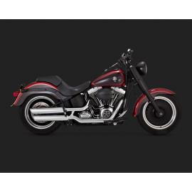 Harley Davidson Fatboy TUV ECE Vance & Hines 16788 Twin slash slip on