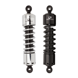 "Harley-Davidson Rear Shocks 412 Series Progressive 12.5"" Black"