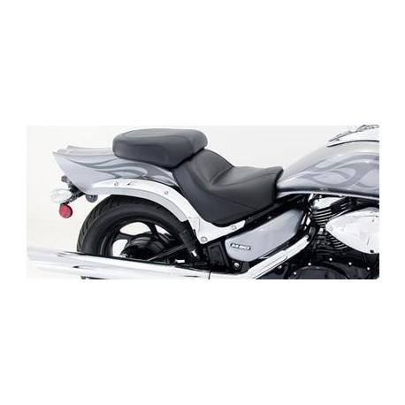 Suzuki M50 M800 Mustang seat saddle 2 piece plain wide touring 76591 2005-2011