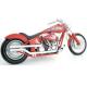Harley Davidson Softail Exhaust Samson Big Guns High Magnum exhaust Chrome 86-06