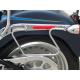HARLEY DAVIDSON SOFTAIL 2000- UP TWIN CAM SADDLEBAG SUPPORTS CHROME