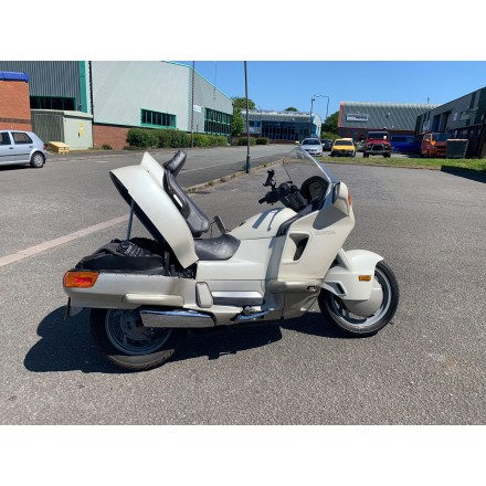 Honda PC800 Uk sale Pacific Coast low miles pearl white beauty