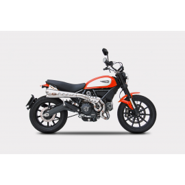 Ducati Scrambler Exhaust Zard High Mounted Special Edition Full system Racing Kit