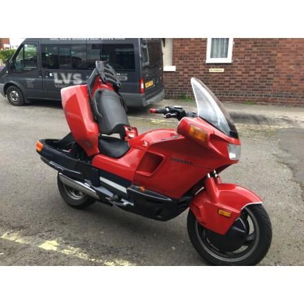 Hona PC800 red Pacific Coast low miles sale UK