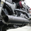 S&S Cycle Grand National Slip-On Mufflers 2014-'18 HD Street and Street Rod