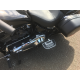 Harley Sport Glide Milwaukee eight 8 rear floorboards Chrome
