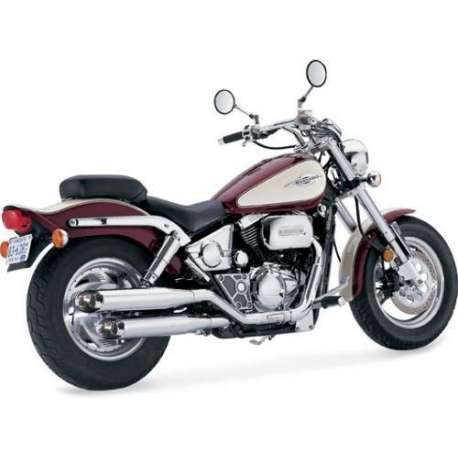 Honda VF750C Magna Exhaust Vance and Hines 19427 Chrome Slip-on Classic II 94-03