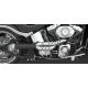 Harley Davidson Softail Rocker C Exhaust Roland Sands Tracker 2 into 1