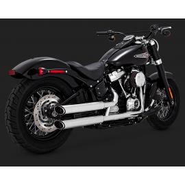 Vance Hines 16875 Twin Slash Slip-ons  Harley-Davidson  2018 Softail M8