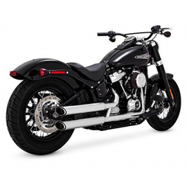 Harley Davidson Vance & Hines exhaust Softail 16875 TWIN SLASH 3-INCH SLIP-ONS r/l  2018 2019 2020