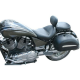 Victory Vegas Mustang seat 79380 Wide Touring with Driver Backrest Studded Saddle