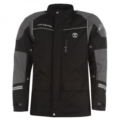 No Fear Motorbike jacket All Weather motorcycle  waterproof Jacket Harley Davidson style Skull logo