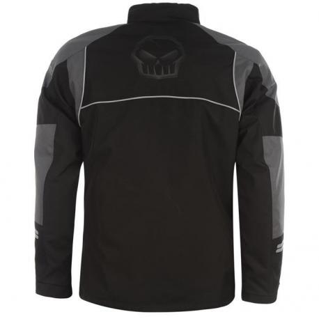 No Fear Motorbike jacket All Weather motorcycle  waterproof Jacket Harley Davidson style Skull logo rear